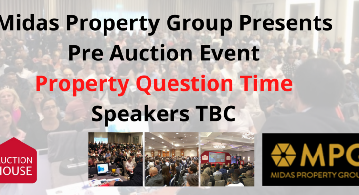 Pre Auction Event – Property Question 27th Oct