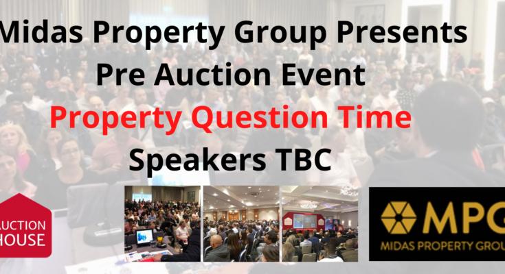 Pre Auction Event – Property Question 8th Dec