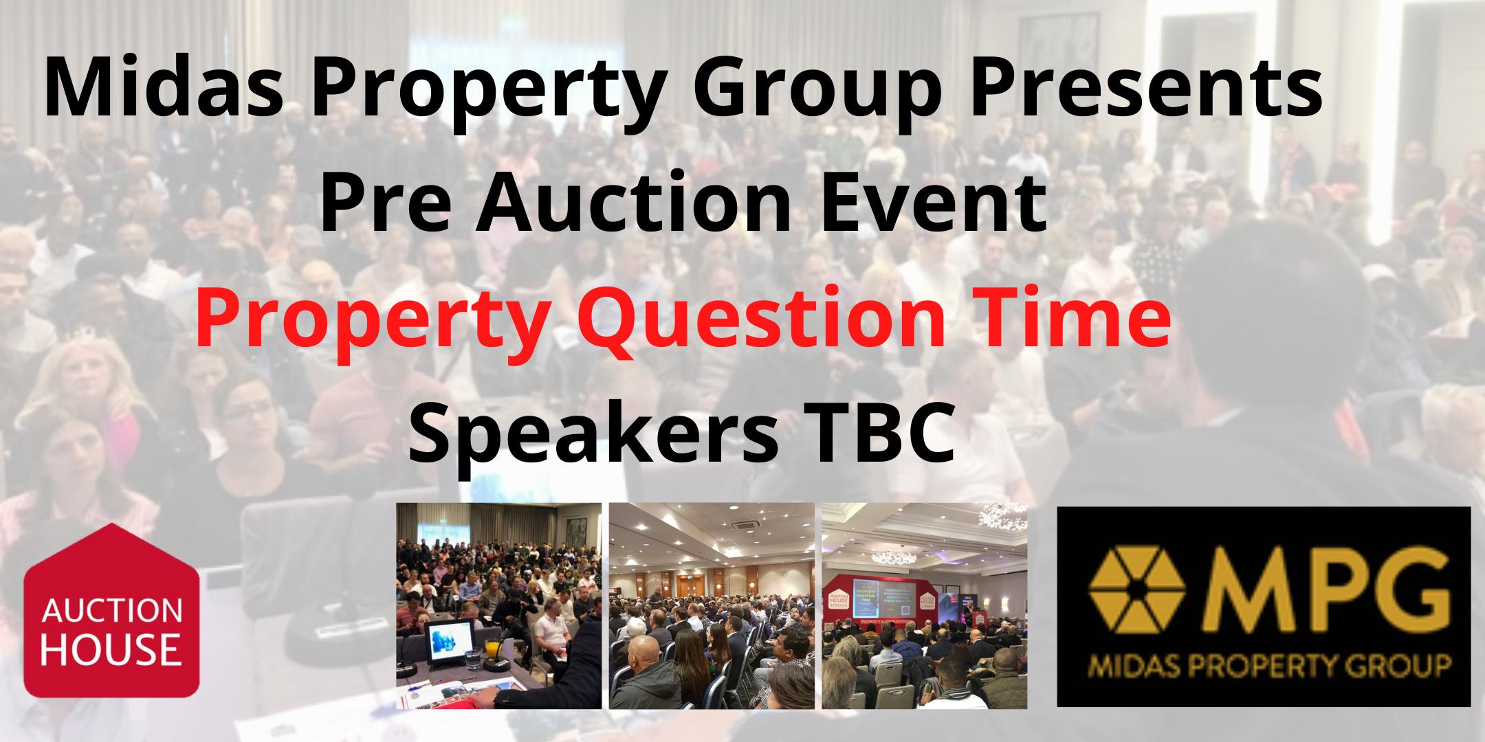 Pre Auction Event - Property Question 8th Dec