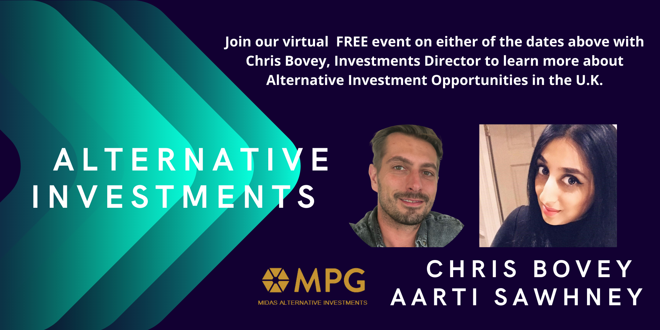 Alternative Investments with Chris Bovey and Midas Property Group