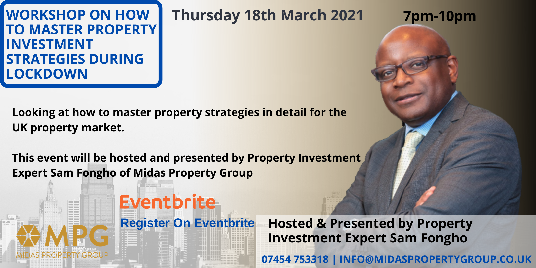 Workshop On How To Master Property Investment Strategies during Lockdown