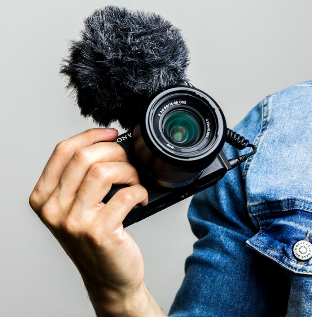 Youtuber camera
