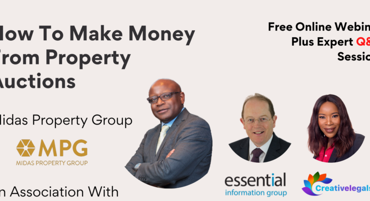 Property Auction Workshop – How To Make Money From Property Auctions