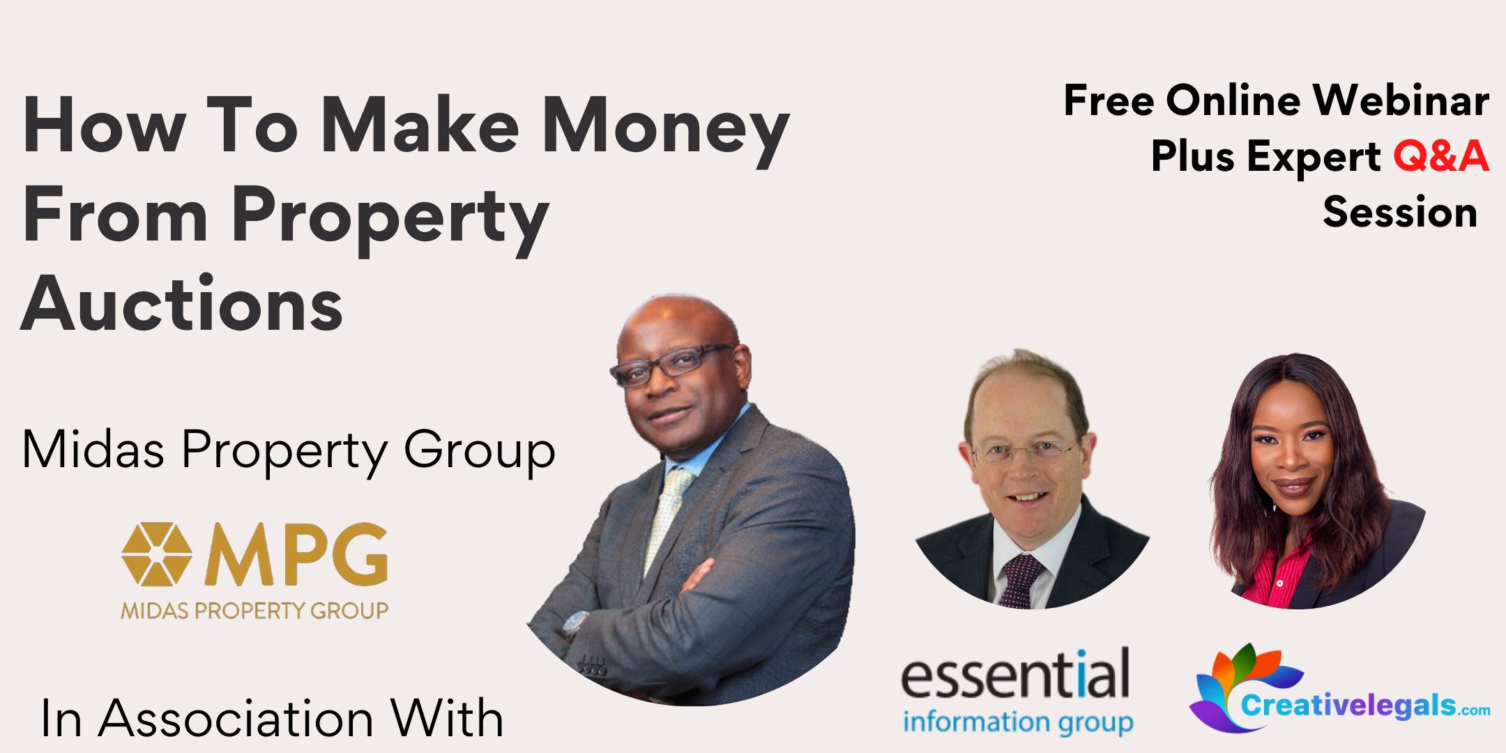 Property Auction Workshop - How To Make Money From Property Auctions