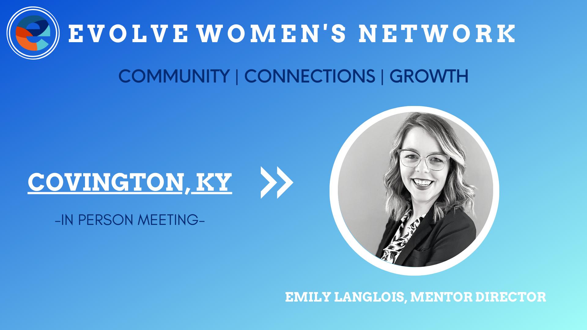 Evolve Women's Network: Covington, KY (In-Person)