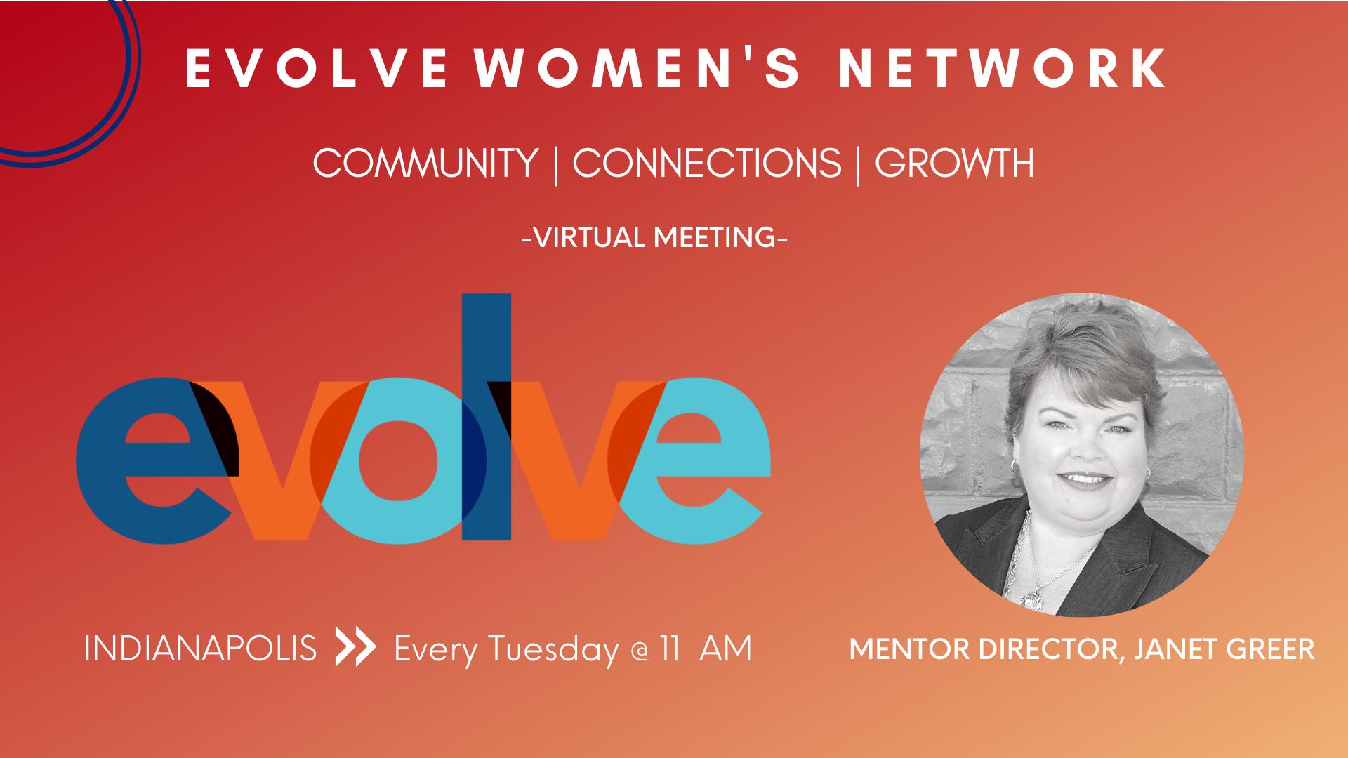 Evolve Women's Network: Indianapolis (Virtual)