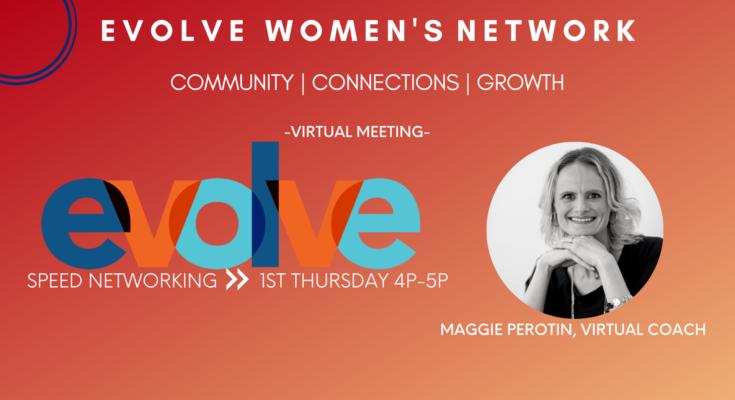 Evolve Women's Network: Speed Networking (Virtual)