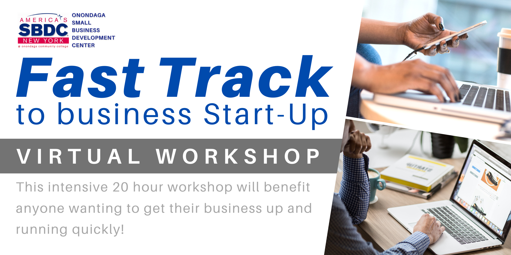 Fast Track to Business Start-Up Virtual Workshop